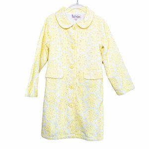 Halabaloo Peter Pan Collar Dress Coat 5 Yellow